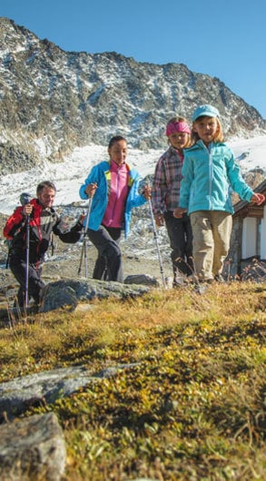 Relaxing hikes for families